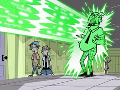S01e19 Mr. Lancer attacked by Fenton Peeler