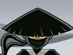 S03e02 samurai Danny stare-down