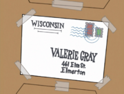 S01e10 Valerie's new address