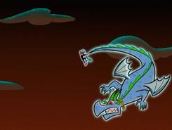 S01e02 spinning dragon Sam around