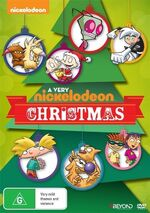A Very Nickelodeon Christmas DVD cover