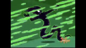 S01e09 peeling Spectra ghost form