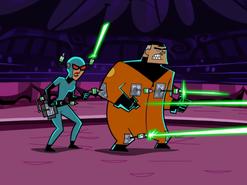 S01e20 jumpsuit lasers