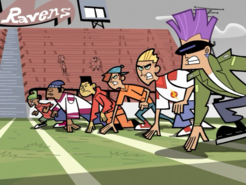 S01e05 football game lineup
