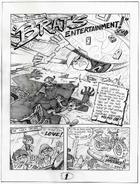 Brat's Entertainment page 1 - pencil