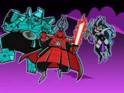 S02M03 super villains flying outside