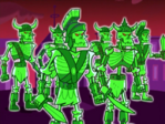 S02M01 skeleton army marching