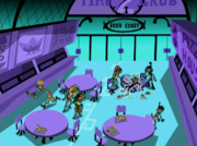 S02e12 food court aerial view