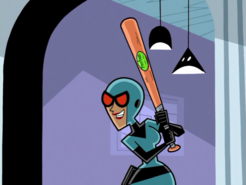 S01e14 Maddie with fenton anti creep stick