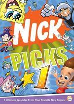 Nick Picks Volume 1 DVD cover