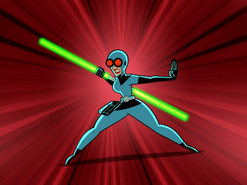 S01e17 lightsaber fighting stance