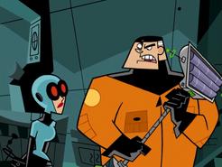 S01e01 Jack holding the Fenton Xtractor