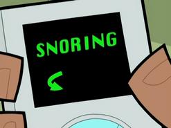 S02e07 snoring