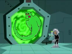 S01e06 ghost monster Dash in portal