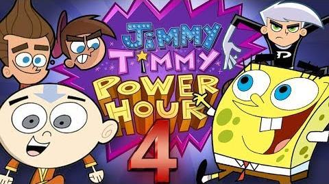 Jimmy Timmy Power Hour 4 BIGGEST NICKTOONS CROSSOVER (SpongeBob, Avatar, Danny Phantom)