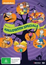 Classic Nickelodeon Halloween Specials DVD cover