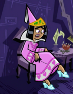 S02e14 Sam princess dress