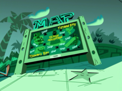 S01e16 Floody Waters map