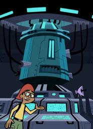 S02e12 hub to Cybertron Mega Computer