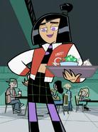 S03e09 Sam in Danny's jacket
