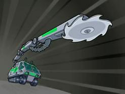 S03e06 GAV blade arm