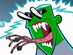 S02e12 monster-face Technus