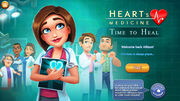 Heart's Medicine Time to Heal Main Screen