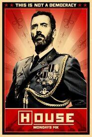 Poster No democracia