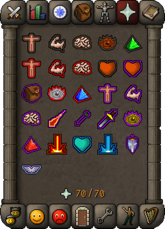 Prayer tab