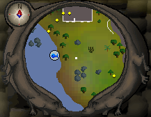 Map clue solution Draynor willows map
