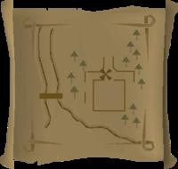 Map clue Galahad
