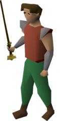 Master wand equipped