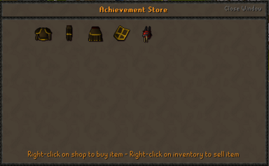 Achievement Store