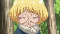 Suika squinting