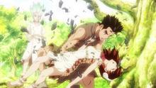 Taiju finally saves Yuzuriha