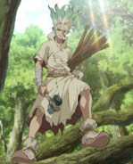 Senku Ishigami Anime Infobox