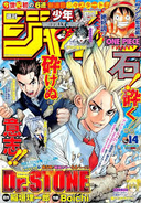 Dr Stone Cover Jump P