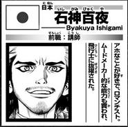 Byakuya Astronaut Bio