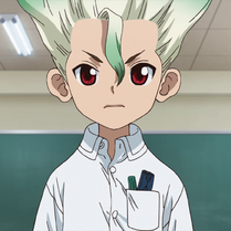 Senku as a child