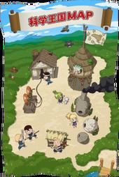 Kingdom of Science Map (Anime)