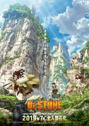 Dr. Stone Key Visual 2