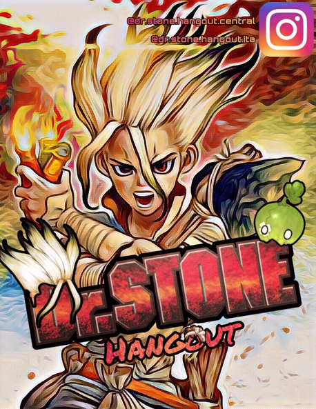 Dr.Stone Hangout - Poster