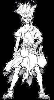Senku Full Body (Manga)