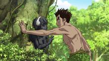 Taiju promises to free Yuzuriha