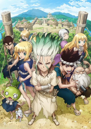Dr. Stone (Anime) Key Visual 2