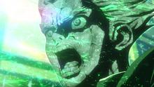 Taiju Oki turns to stone