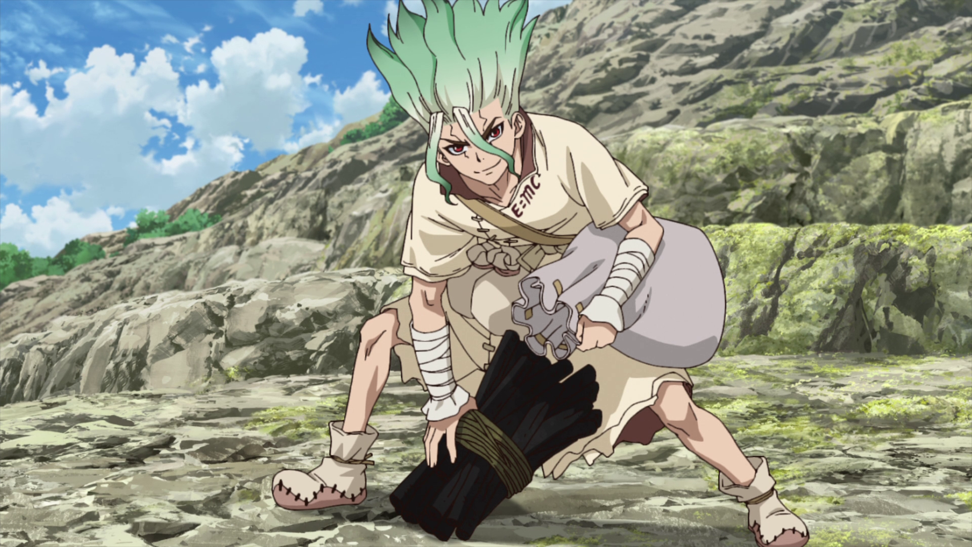 Image result for dr. stone episode 4