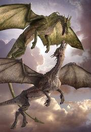 Bergdrache Dragons World Daren Horley