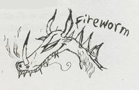 Riesenhafter Albtraum Feuerwurm 2
