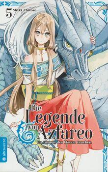 Die Legende von Azfareo bd.5 altraverse cover